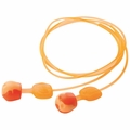 Howard Leight by Honeywell TRUSTFITPOD-30 Trust-Fit Pod No-Roll Ear Plugs Corded (NRR 28) (Box of 100 Pairs)