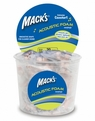 Mack's Acoustic Foam Ear Plugs (NRR 20) (Tub of 100 Pairs)