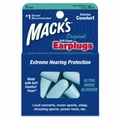 Mack's Original Soft Foam Ear Plugs (NRR 32) (5 Pairs w/ Carry Case)