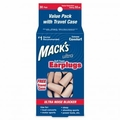 Mack's Ultra Soft Foam Ear Plugs (NRR 32) (30 Pairs w/ Carry Case)