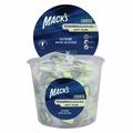 Mack's Corded Foam Shooting Ear Plugs (NRR 32) (Tub of 100 pairs)