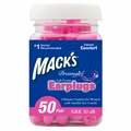 Mack's Dreamgirl Soft Foam Ear Plugs (NRR 30) (Bottle of 50 Pairs)