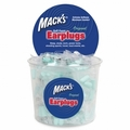 Mack's Original Soft Foam Ear Plugs (NRR 32) (Tub of 100 Pairs)