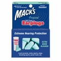 Mack's Original Soft Foam Ear Plugs (NRR 32) (10 pairs w/Carry Case)