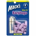 Mack's Slim Fit Smaller Soft Foam Ear Plugs (NRR 29) (7 Pairs w/ Carry Case)