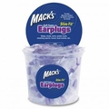 Mack's Slim Fit Smaller Soft Foam Ear Plugs (NRR 29) (Tub of 100 Pairs)