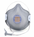 Moldex 2740R95, 2741R95 Disposable Respirator with Cloth HandyStrap & Ventex Valve (R95) (Case of 100 Masks)