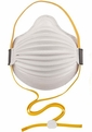 Moldex 4300P95 Airwave Disposable Respirator with Cloth SmartStrap + Full Face Flange Med/Lg Only (P95) (Case of 80 Masks)