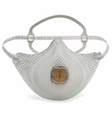 Moldex EZ23, EZ23S EZ-ON N95 Disposable Respirator with Single Cloth Strap + Ventex Valve (N95) (Case of 100 Masks)