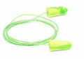 Moldex Goin' Green UF Foam Ear Plugs Corded (NRR 33) (Box of 100 Pairs)