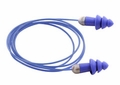 Moldex Rockets 6415 Reusable Metal Detectable Ear Plugs Corded (NRR 27) (Box of 50 Pairs)