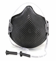 Moldex M2600N95, M2601N95 Special Ops Disposable Respirator with Cloth HandyStrap (N95) (Case of 180 Masks)