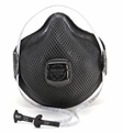 Moldex M2740R95, M2741R95 Special Ops Disposable Respirator with Cloth HandyStrap & Ventex Valve (R95) (Case of 100 Masks)