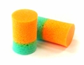 New Dynamics Sound Guard Two-Color PVC Foam Ear Plugs (NRR 29) (Box of 200 Pairs)