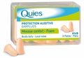 Quies Soft Foam Earplugs (3 Pairs)