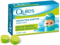 Quies Moldable Silicone Ear Plugs for Swimmers (3 Pairs)
