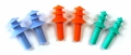 Tasco Tri-Fit Triple Flange Reusable Ear Plugs in Poly Bag (NRR 25) (Box of 100 Pairs)