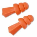 Tasco Tri-Grip Reusable Ear Plugs (NRR 27) (Box of 100 Pairs)