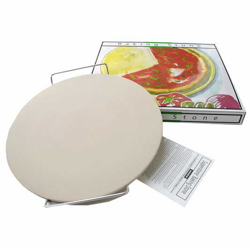 "15"" Round Superstone® Baking Stone Set"