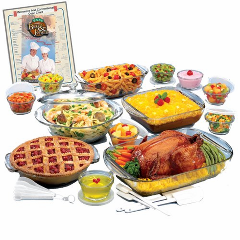 Anchor Hocking Glass Ovenware Set 2134