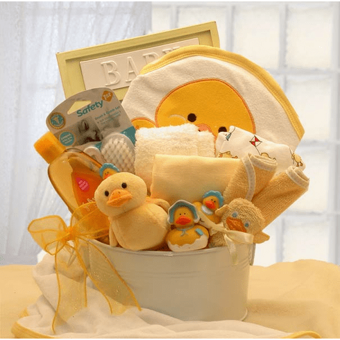 Bath Time Baby Gift Basket - Small