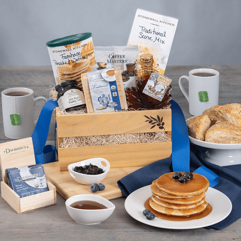 Gourmet Breakfast for Dad - Father's Day Gift Basket