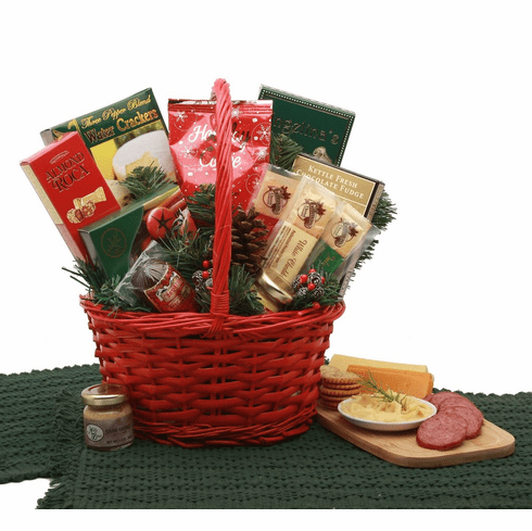 Holiday Snacker Gift Basket