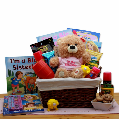 I'm The Big Sister Children's Gift Basket