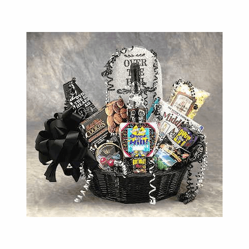 Over The Hill Birthday Basket - Large