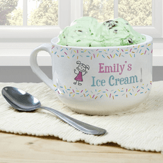 Personalized Ice Cream Bowls