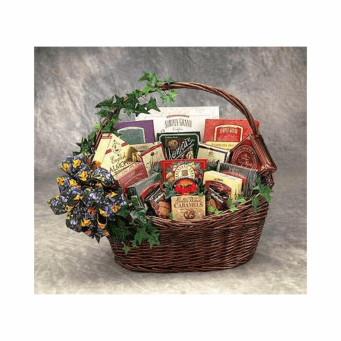Sweets 'N Treats Gift Basket - Medium