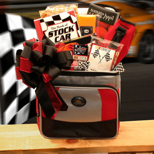 """""""The Race Is On"""" NASCAR Lovers Gift Chest"""