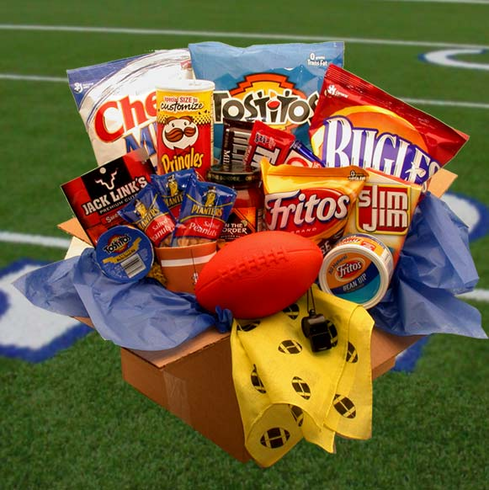 Touchdown Snacks Care Package