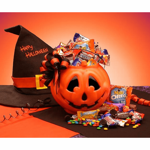 Trick or Treat Halloween Goodies Pail