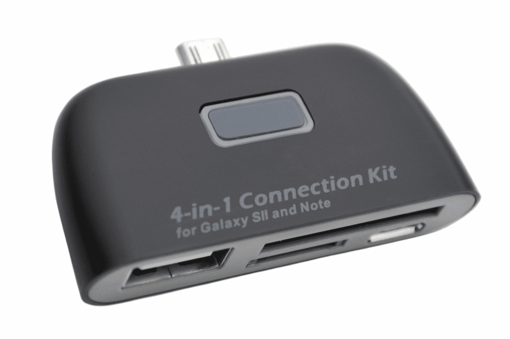 4-in-1 Connection Kit for Samsung Galaxy™ S2/3/4 and Note 2/3