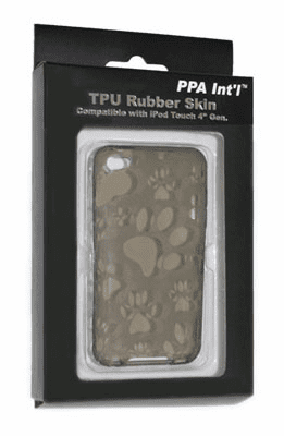 idotConnect TPU Rubber Skin for iTouch 4th Generation (Gray)