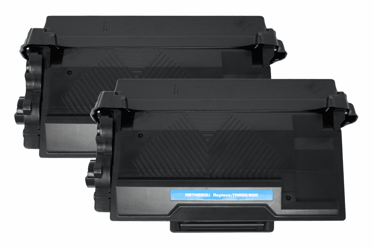 Premium Toner Cartridge Compatible with Brother TN-850/TN-820 (Black, 2 pack)