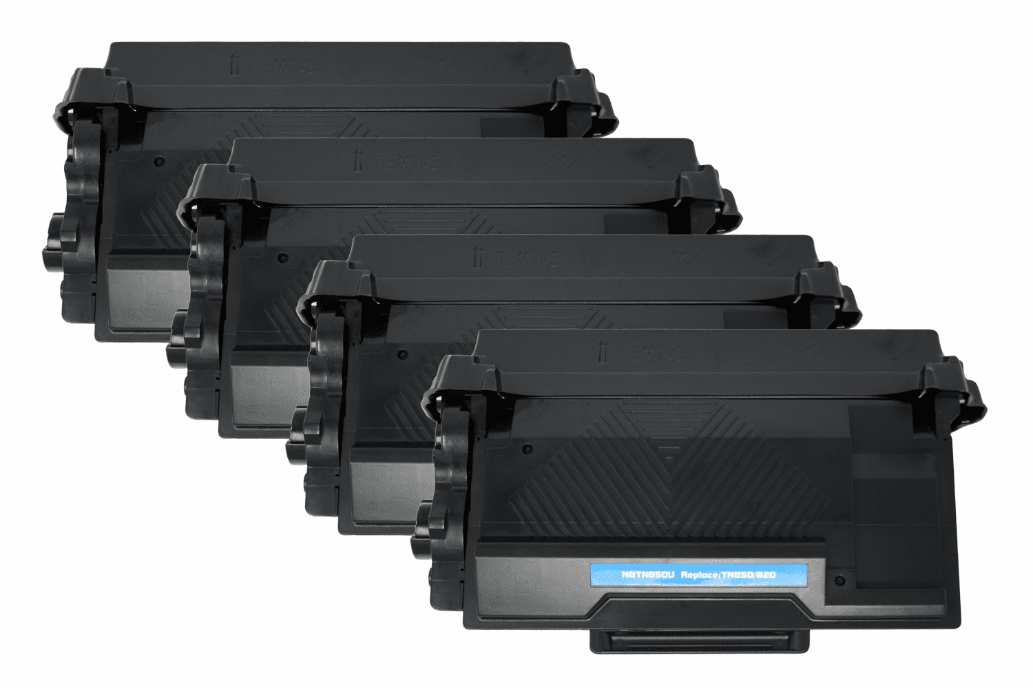 Premium Toner Cartridge Compatible with Brother TN-850/TN-820 (Black, 4 pack)