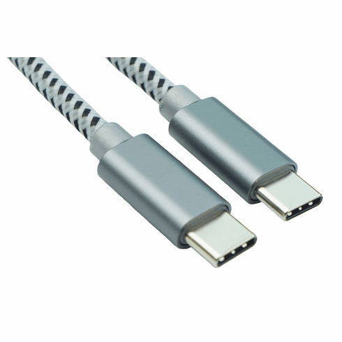 USB Type-C to Type-C Cable 1.65ft - 2 Pack