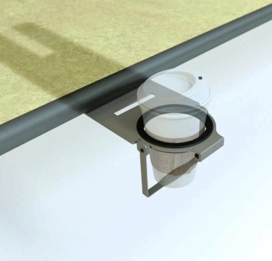 AC-CUP1Underdesk Cup Holder