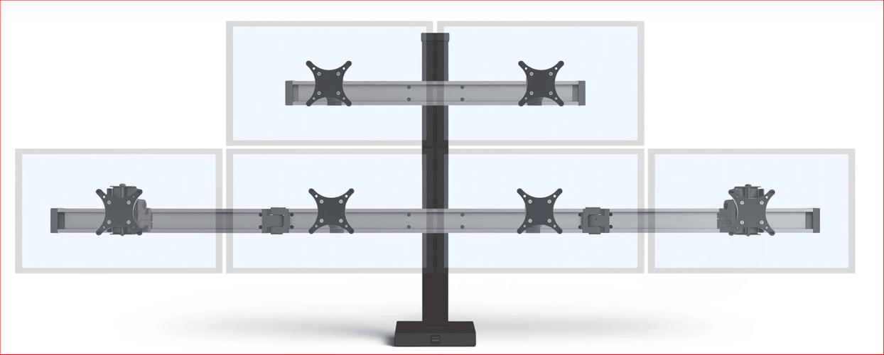 MASTER YOUR MONITORS W/THIS INNOVATIVE BILD 2OVER4 MULTIPLE MONITOR STAND. BILD IS BUILT LIKE A SKYSCRAPER. VIDEO. <font color=#c60><b>ADD TO CART FOR FREE SHIPPING.</font></b></font> Rating: &#11088;&#11088;&#11088;&#11088;&#11088;</b></font>