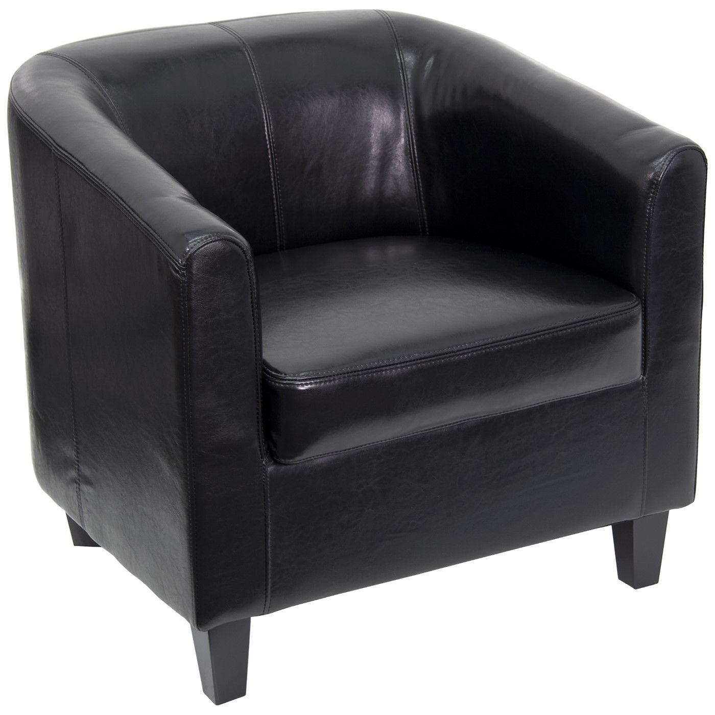 Black LeatherSoft Lounge Chair