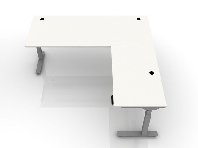 <b><font color=red>10% EXTRA DISCOUNT W/FREE SHIPPING. SALE ENDS DEC 4 2020. ENTER '10percent' IN COUPON BOX WHEN CHECKING OUT.</b></font> ^BOOST^ PACS HEIGHT ADJUSTABLE RADIOLOGY DESK L-SHAPED. ADD FROSTED GLASS SNEEZE GUARD BARRIERS. FREE SHIPPING 5-7 BIZ DAYS: