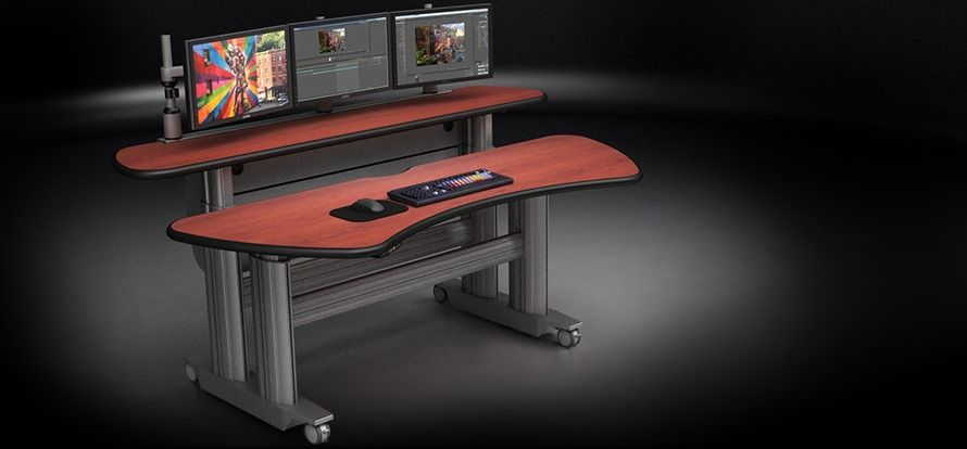 <b><font color=#c60>ERGONOMIC HOME TBC SMARTTRAC SIT STAND DESK. FREE SHIPPING:</b></font>