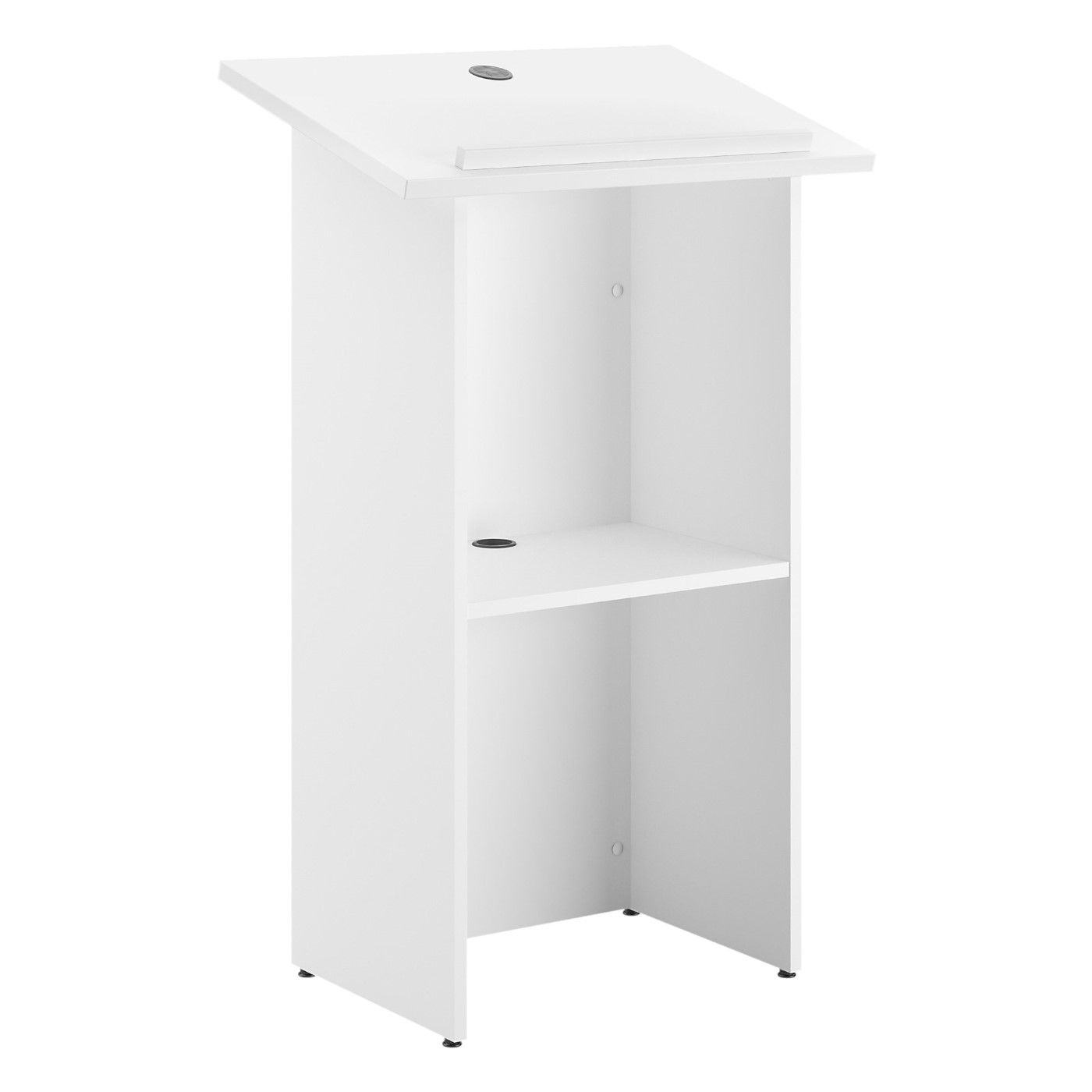 BUSH BUSINESS FURNITURE 24W X 48H LECTERN. FREE SHIPPING SALE DEDUCT 10% MORE ENTER '10percent' IN COUPON CODE BOX WHILE CHECKING OUT. ENDS 5-31-20.