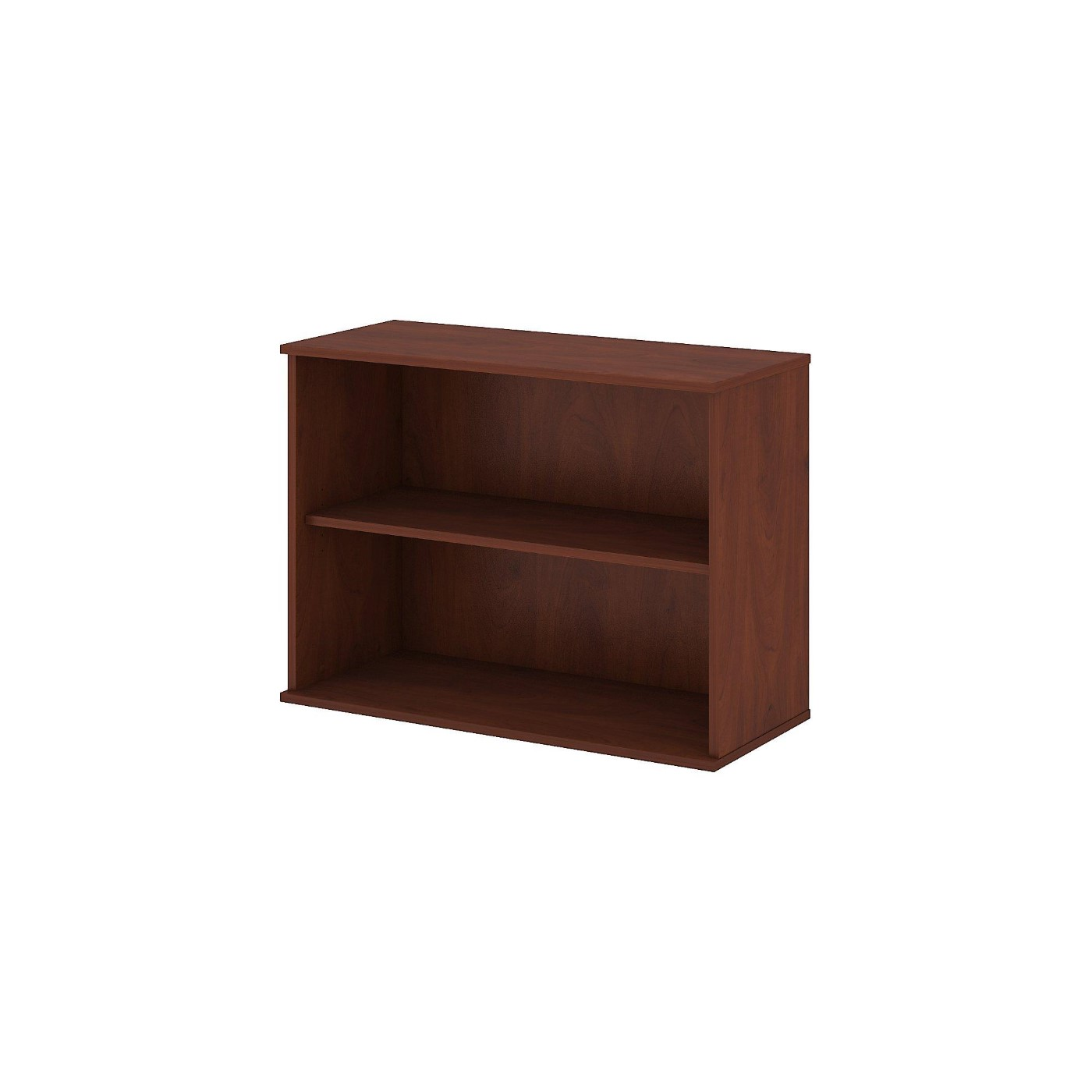 <font color=#c60><b>BUSH BUSINESS FURNITURE 30H 2 SHELF BOOKCASE. FREE SHIPPING</font></b>