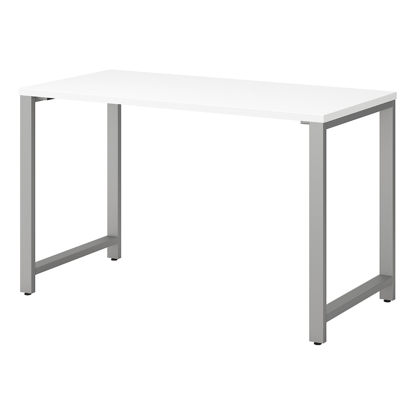 BUSH BUSINESS FURNITURE 400 SERIES 48W X 24D TABLE DESK WITH METAL LEGS. FREE SHIPPING SALE DEDUCT 10% MORE ENTER '10percent' IN COUPON CODE BOX WHILE CHECKING OUT.
