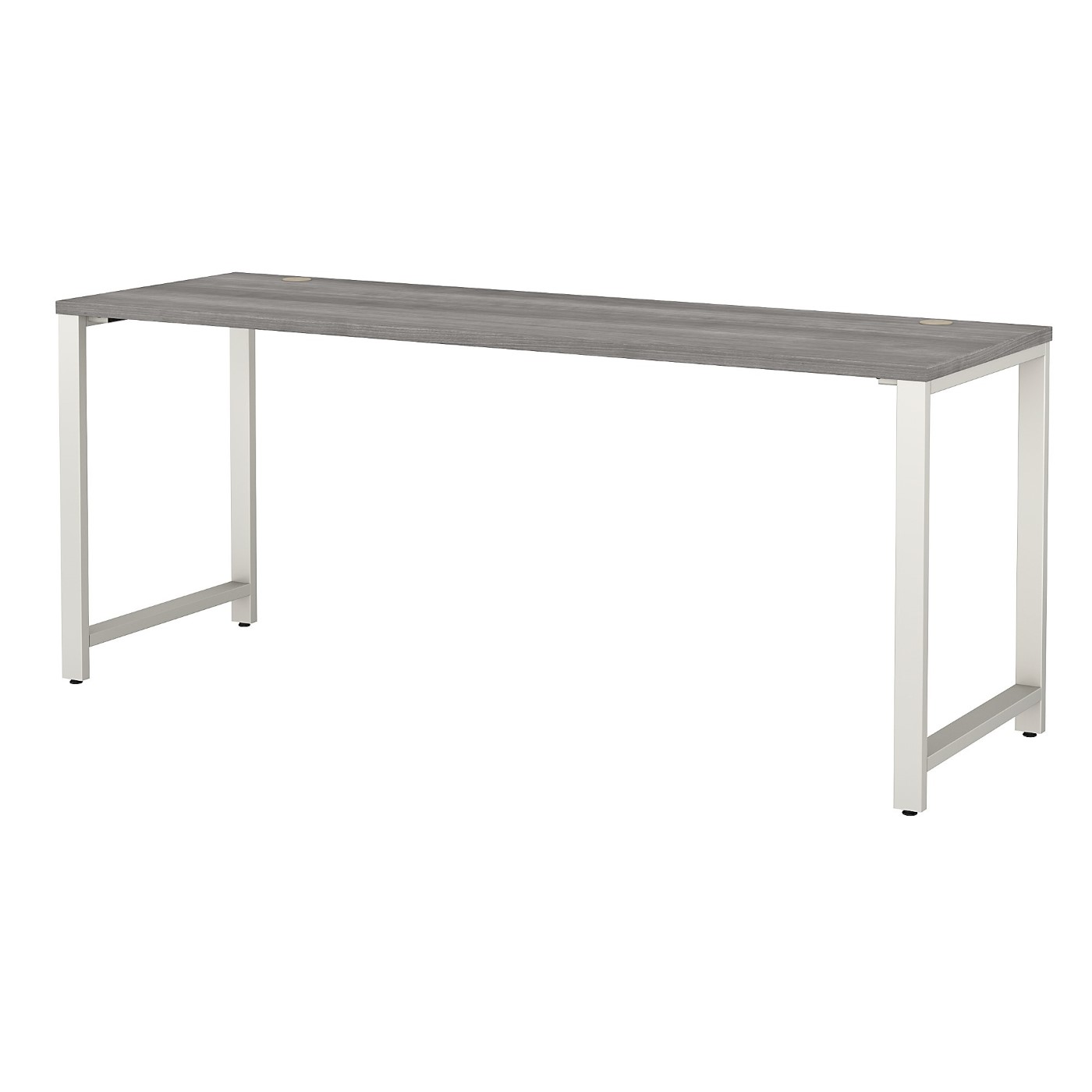 BUSH BUSINESS FURNITURE 400 SERIES 72W X 24D TABLE DESK WITH METAL LEGS. FREE SHIPPING