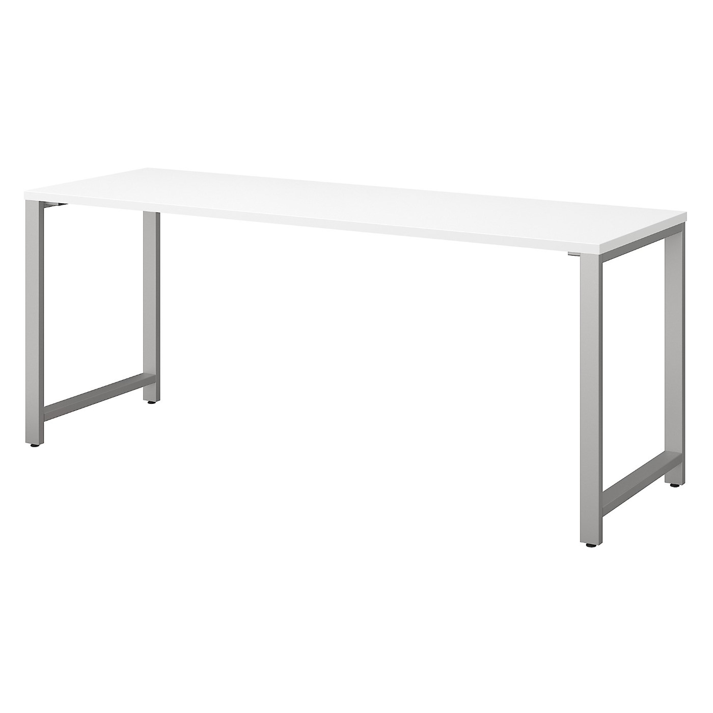 BUSH BUSINESS FURNITURE 400 SERIES 72W X 24D TABLE DESK WITH METAL LEGS. FREE SHIPPING SALE DEDUCT 10% MORE ENTER '10percent' IN COUPON CODE BOX WHILE CHECKING OUT.