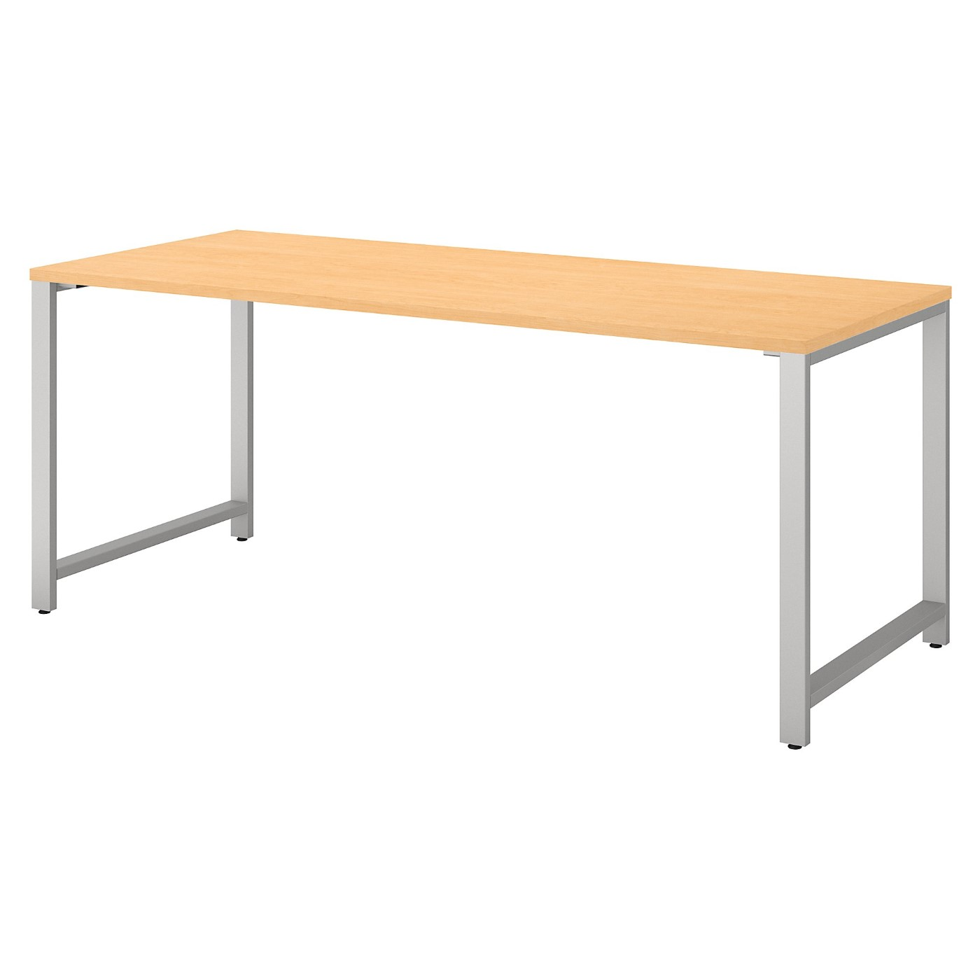 BUSH BUSINESS FURNITURE 400 SERIES 72W X 30D TABLE DESK WITH METAL LEGS. FREE SHIPPING